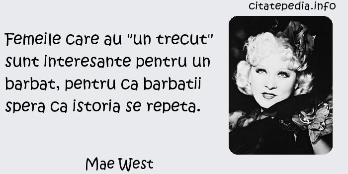 Mae West - Femeile care au