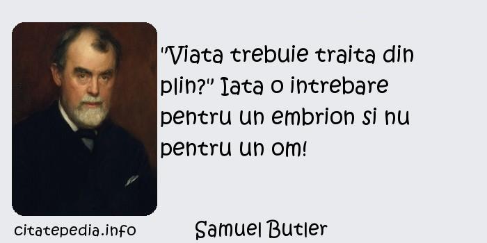 Samuel Butler -